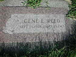 Gene Elwood Weed