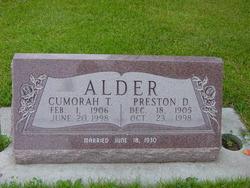 Cumorah Thurgood Alder