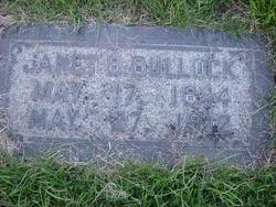 Janet <I>Brunton</I> Bullock