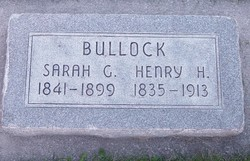 Sarah <I>Griffin</I> Bullock