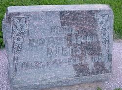 Annie Elizabeth <I>Brown</I> Burns