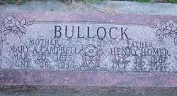 Mary Ann <I>Campbell</I> Bullock