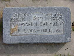 Edward Lorenzo Bauman