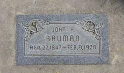 John Henry Bauman, Sr