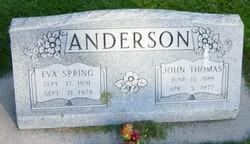 Eva <I>Spring</I> Anderson