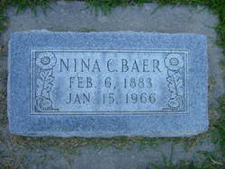 Nina Amanda <I>Campbell</I> Baer