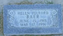 Helen <I>Telford</I> Baer