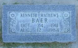 Kenneth Mathews Baer