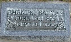 Emanuel Bauman