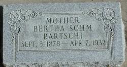 Bertha <I>Sohm</I> Bartschi