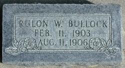 Reulon William Bullock