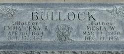 Moses William Bullock
