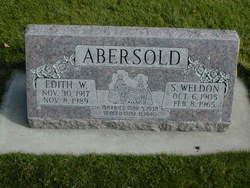 Edith <I>Woodward</I> Abersold