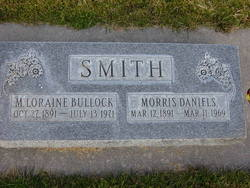 Mary Loraine <I>Bullock</I> Smith