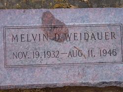 Melvin Dean Weidauer