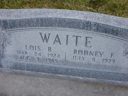 Lois Astle <I>Baer</I> Waite
