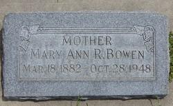 Mary Ann <I>Raymond</I> Bowen