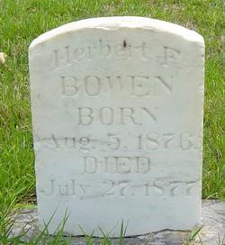 Herbert Francis Bowen