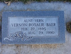 "Vernon Rosalie ""Vern"" Baer"