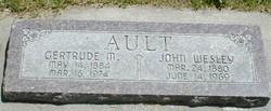 Helen Gertrude <I>Marler</I> Ault