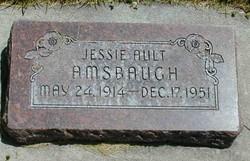 Jessie Marler <I>Ault</I> Amsbaugh