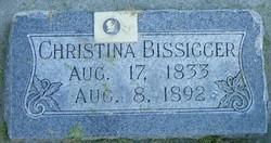 Christina <I>Erni</I> Bissegger