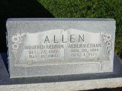 Winfred Price <I>Oldham</I> Allen