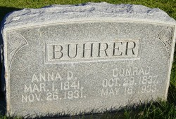 Anna <I>Dunkel</I> Buhrer