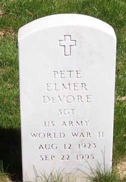 Pete Elmer Devore