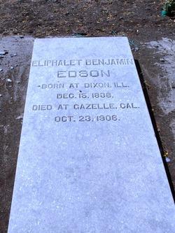 Eliphalet Benjamin Edson