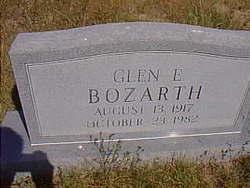 Glen E Bozarth