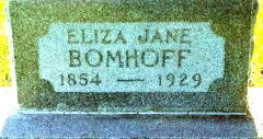 Eliza Jane <I>Rouse</I> Bomhoff