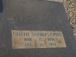 Hettie <I>Sanders</I> Creel