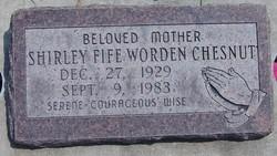 Shirley <I>Fife</I> Chesnut