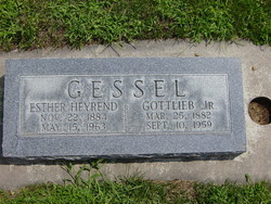 Gottlieb Gessel, Jr