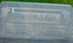 Bertha <I>Raisch</I> Duersch