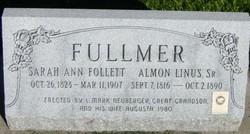 Sarah Ann <I>Follett</I> Fullmer