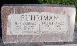 Elna <I>Mathews</I> Fuhriman