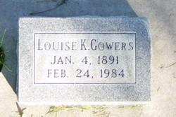 Elizabeth Louise <I>Kraus</I> Gowers