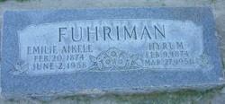 Emilie <I>Aikele</I> Fuhriman