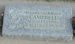 Freelove <I>Hammond</I> Campbell