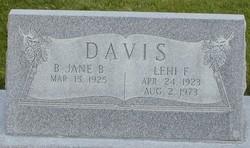 Lehi Frank Davis