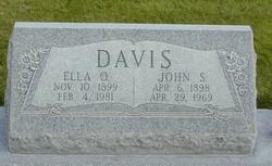Ella Florence <I>Olson</I> Davis