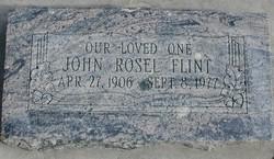 John Rosel Flint
