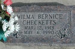 Wilma Bernice Checketts