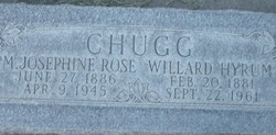 Mary Josephine <I>Rose</I> Chugg