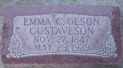 Emma Christina <I>Olson</I> Gustaveson