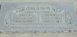Joyce Magdalena <I>Bullock</I> Ferguson