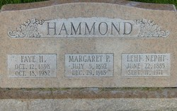 Faye Amelia <I>Hoopes</I> Hammond