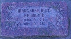 Margaret Ruth Hammond